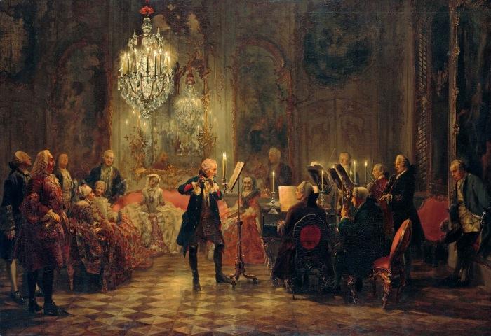 Fredrik-II-suuri-soittaa-barokkimusiikkia