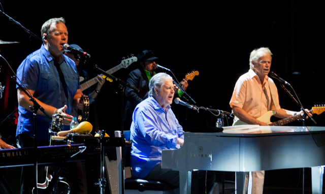 Brian Wilson performing at the Bord Gais Energy Theatre, Dublin