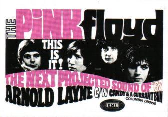pink1967 Arnold Layne Pink Floyd Poster