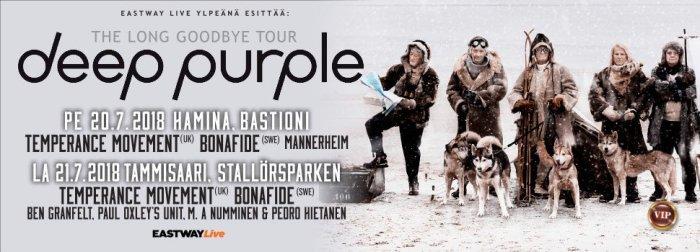 Deep purple 2018