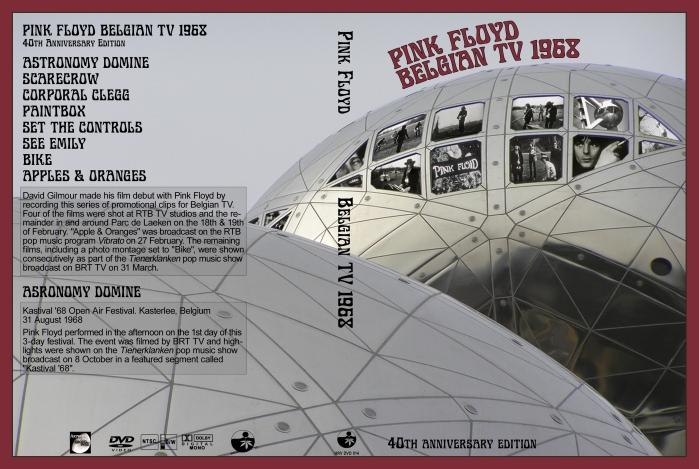 Pink FloydLive in Belgium 1968
