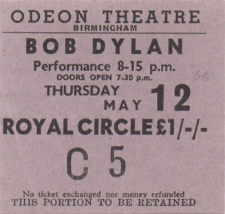 dylanbirmingham1966ticket