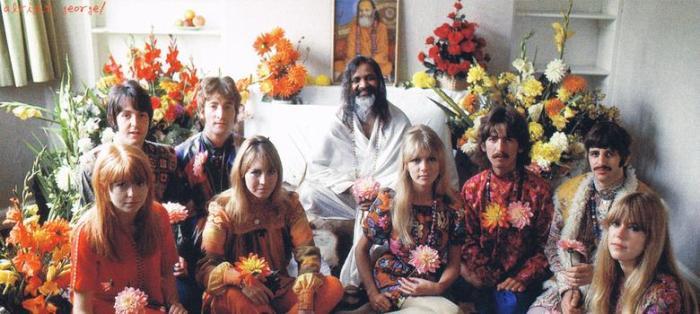 beatlesinnidia 1968