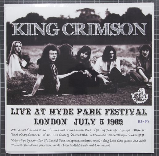 kingcrimsonhydepark1969