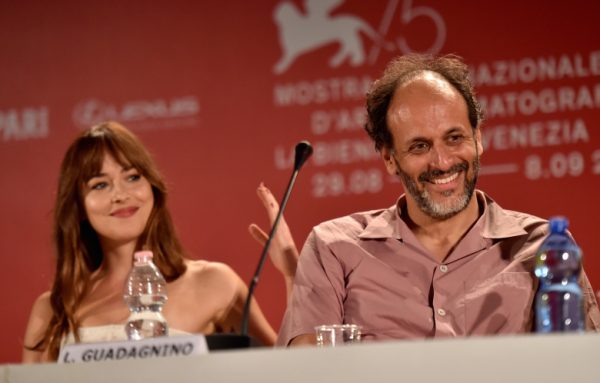 dylanLuca-Guadagnino-Dakota-Johnson-Venezia-2018