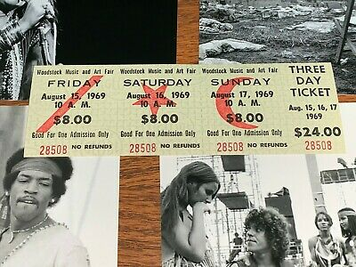 Woodstockticket1969